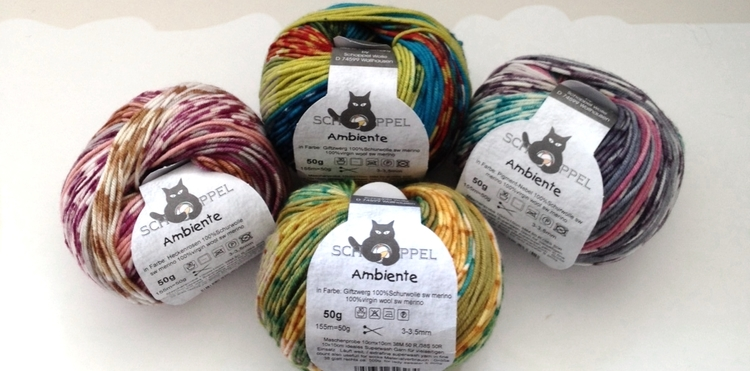 Schoppel Ambiente Yarn Review — Blog.NobleKnits