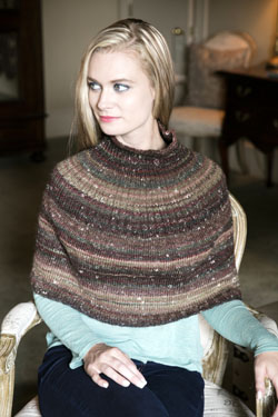 Mushishi Poncho Free Knitting Pattern