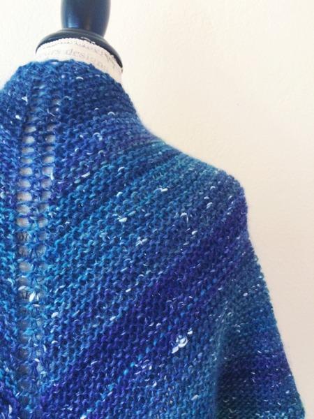 One Skein Knitting Patterns Free : Mushishi Shawl Free Knitting Pattern   Blog.NobleKnits
