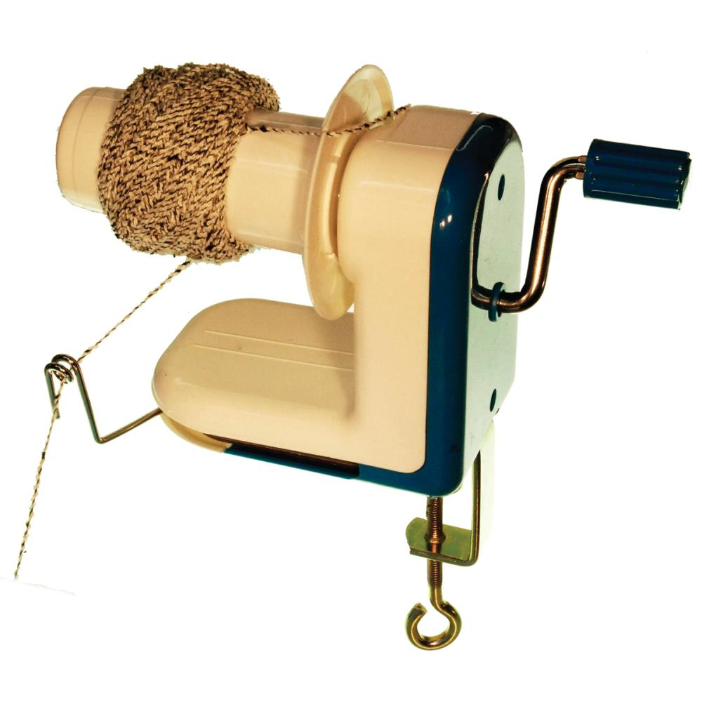 Knitter's Handy Tool - A Yarn Ball Winder!