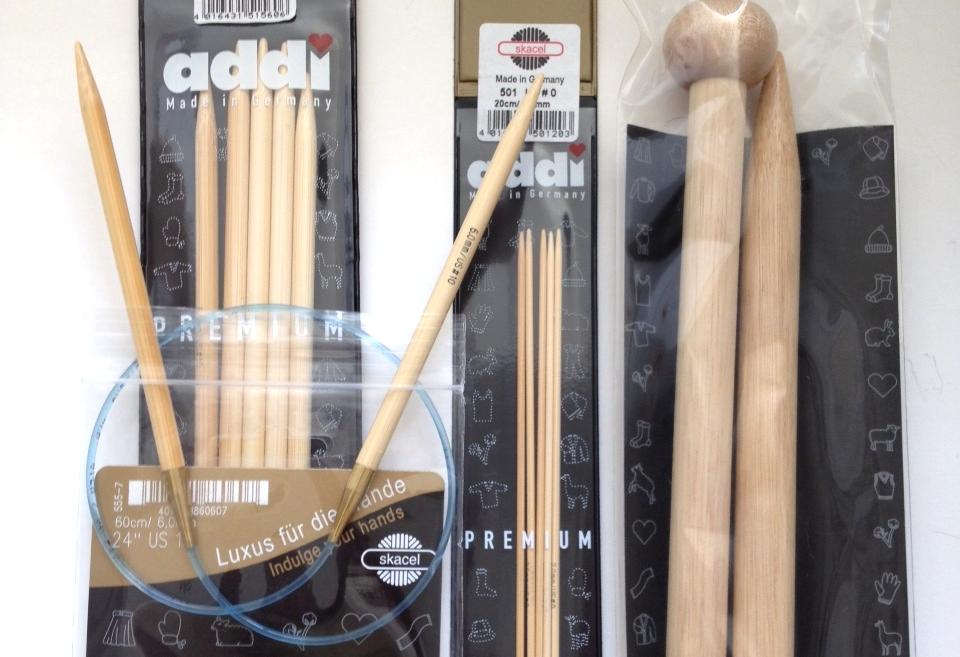 Addi Bamboo Needles