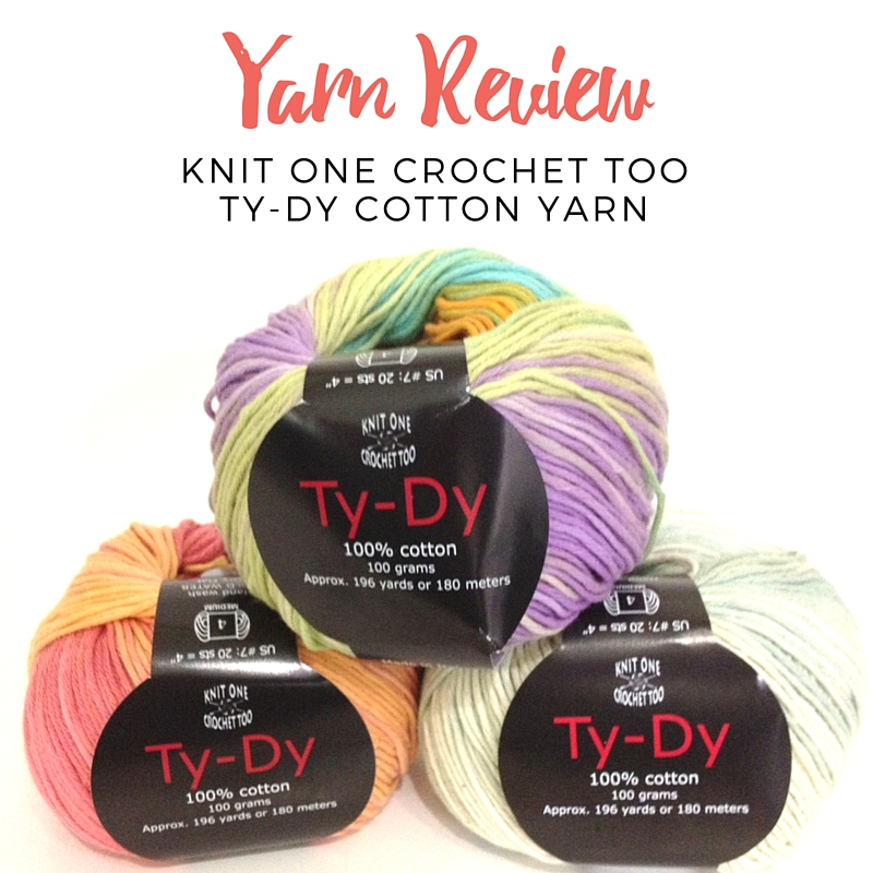 Yarn Review: Knit One Crochet Too Ty-Dy Cotton Yarn