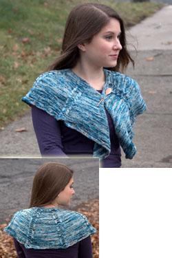 Splash Scarf Free Knitting Pattern