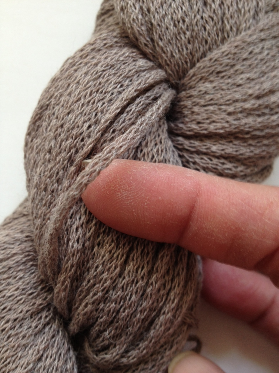 Closeup of Berroco Maya Yarn
