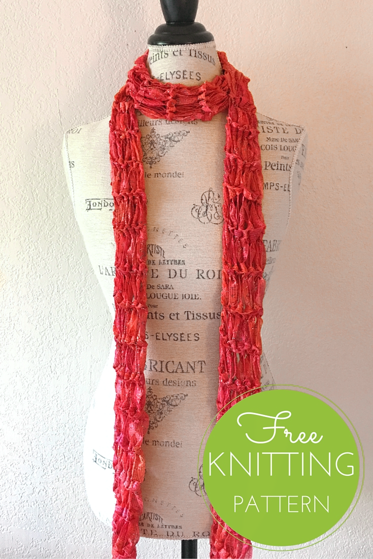Constellation Skinny Scarf Free Knitting Pattern Blog