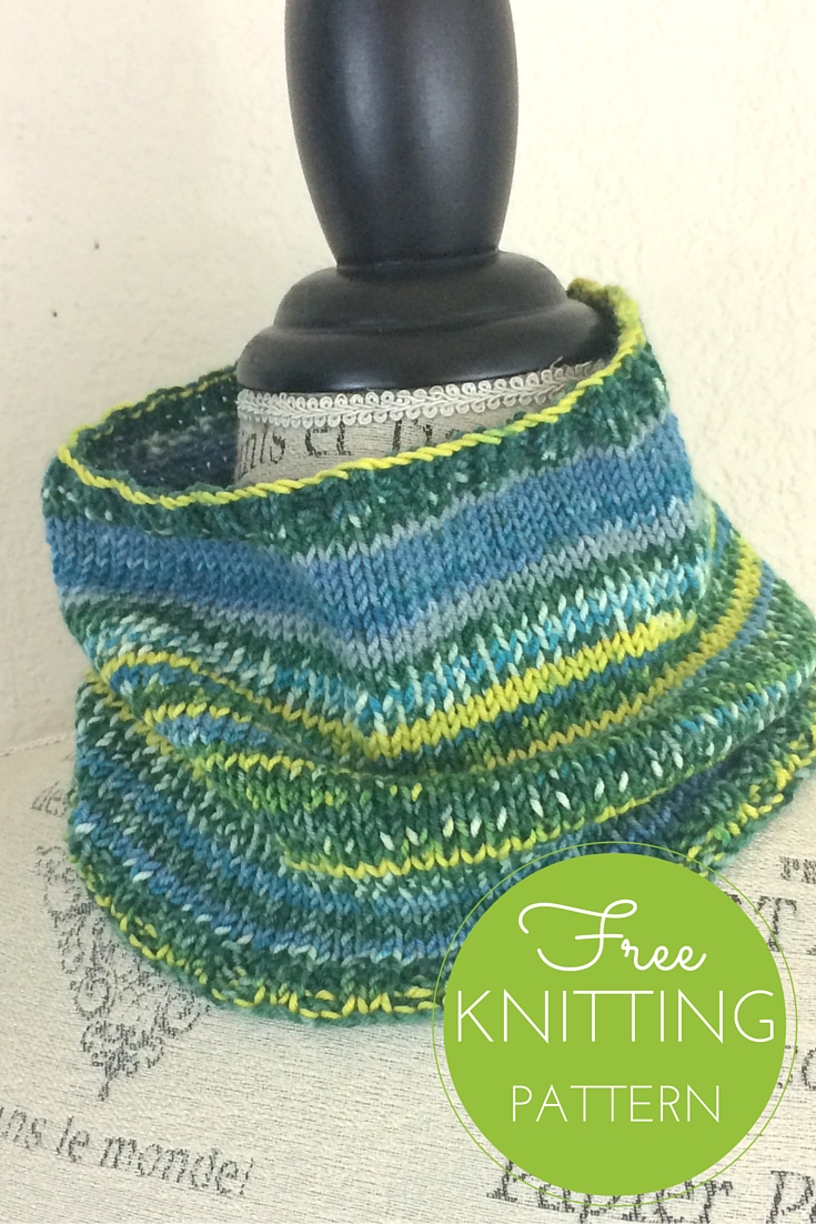 Ambiente Cowl Free Knitting Pattern