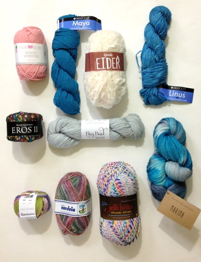 Top 10 Yarns April 2016