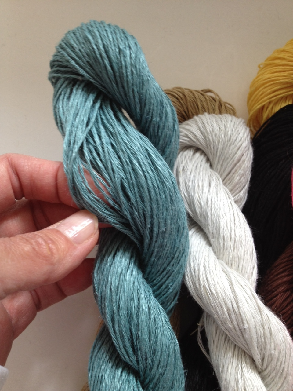 Lovely linen! Fibra Natura Flax Yarn