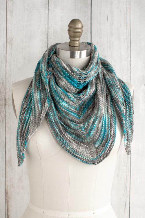 Alegria Shadow Shawl Free Knitting Pattern BlogNobleKnits Magnificent Free Shawl Knitting Patterns