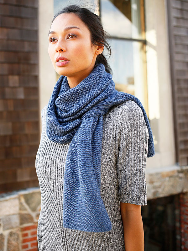 Beignet Scarf Free Knitting Pattern