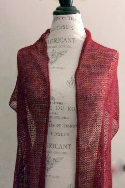 Ethereal Shawl Free Knitting Pattern