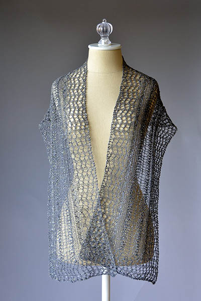 Starry Night Scarf Free Knitting Pattern