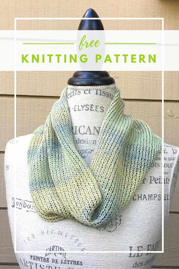 Audra Mix Cowl Free Knitting Pattern
