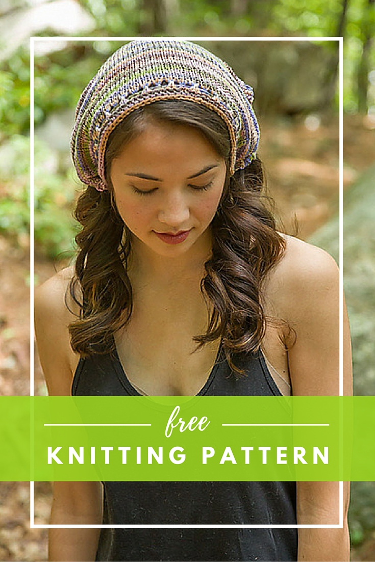Santorini Kerchief Free Knitting Pattern