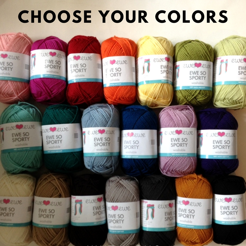 Ewe So Sporty Yarn Comes in 20 Gorgeous Shades