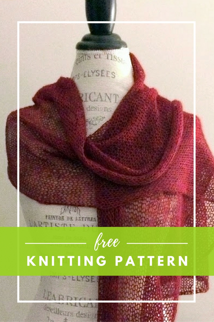 Ethereal Wrap  Free Knitting Pattern