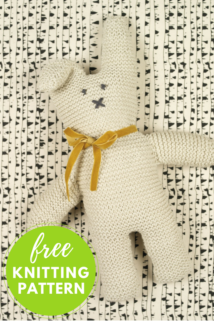 Cottontail Rabbit Free Knitting Pattern