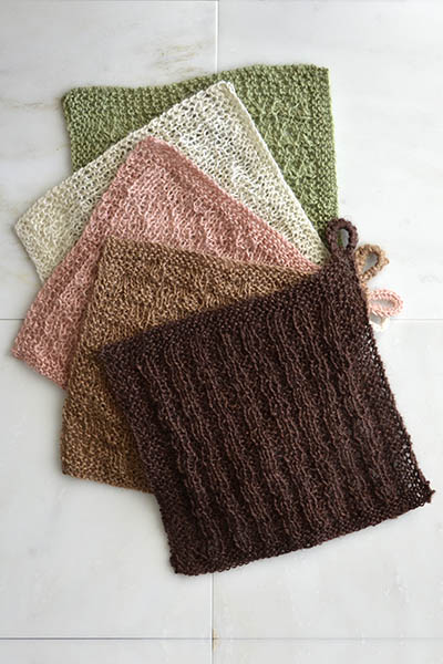 Stitch Sampler Washcloths Free Knitting Pattern Blogbleknits