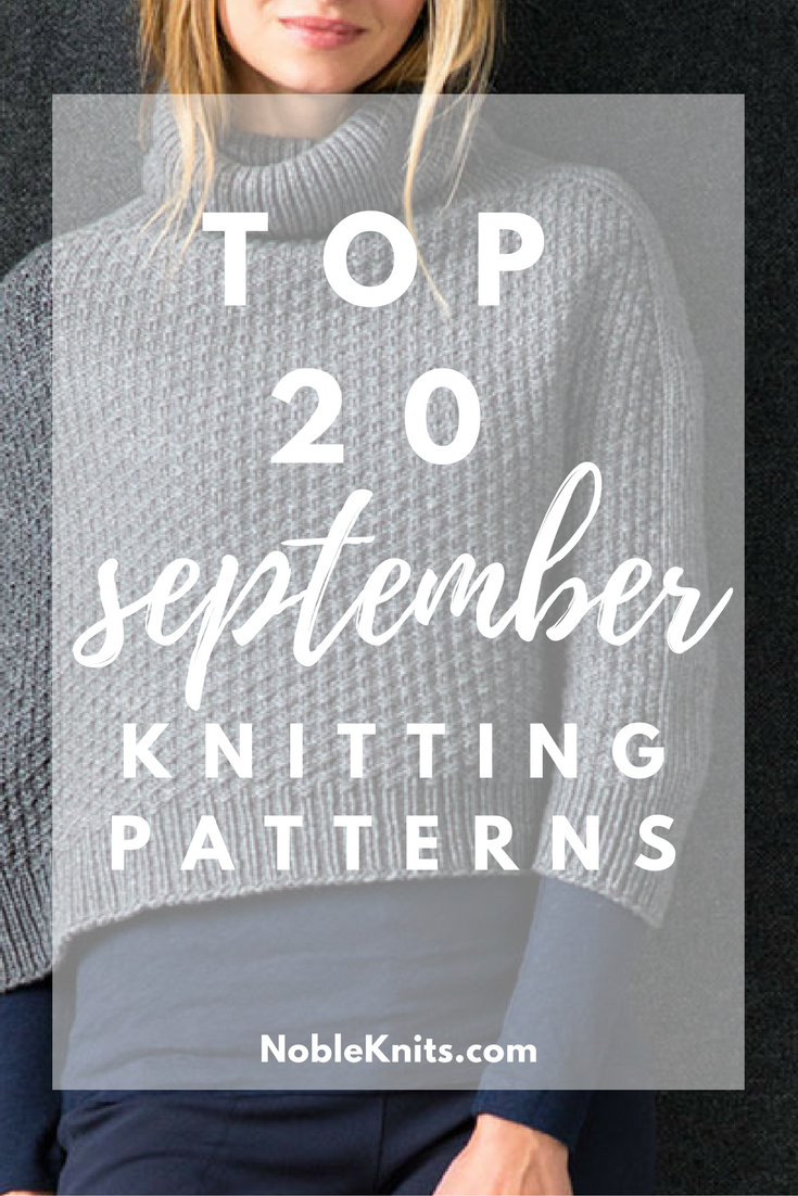 Knit List: 20 Hottest Knitting Patterns of September 2016