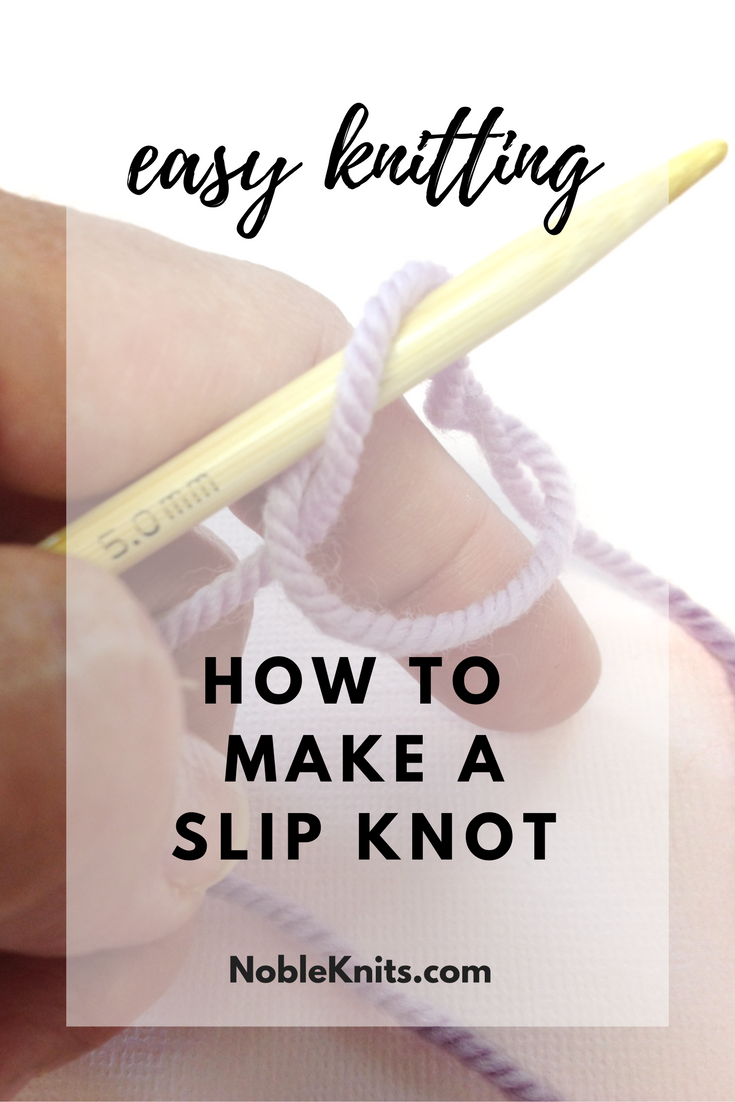 How to Make a Slip Knot in Less than 1 Minute