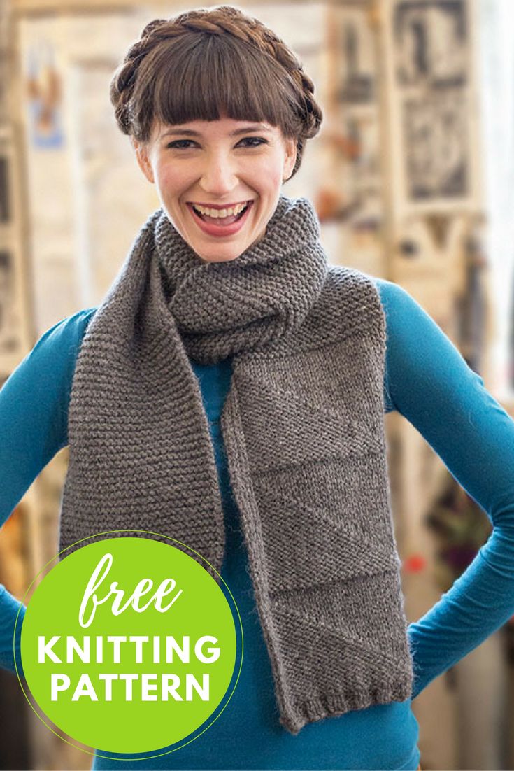 Casa Sonia Scarf Knitting Pattern - Free PDF Download!