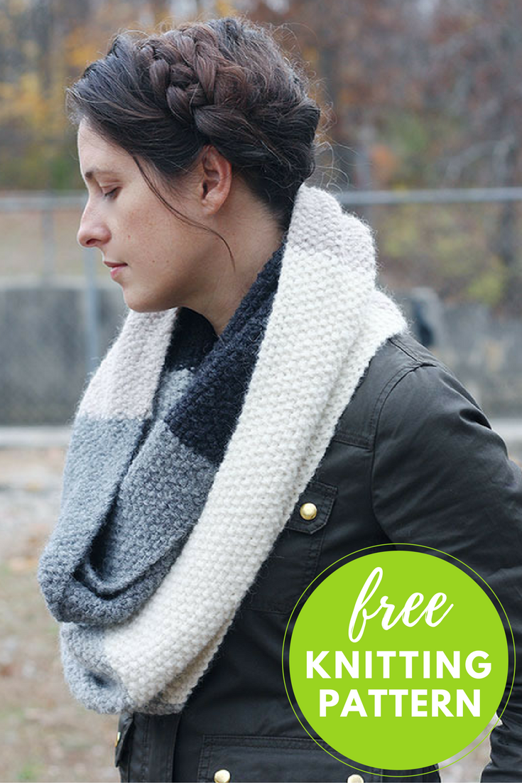 Easy Knitting Pattern: Mille Cowl Free Pattern