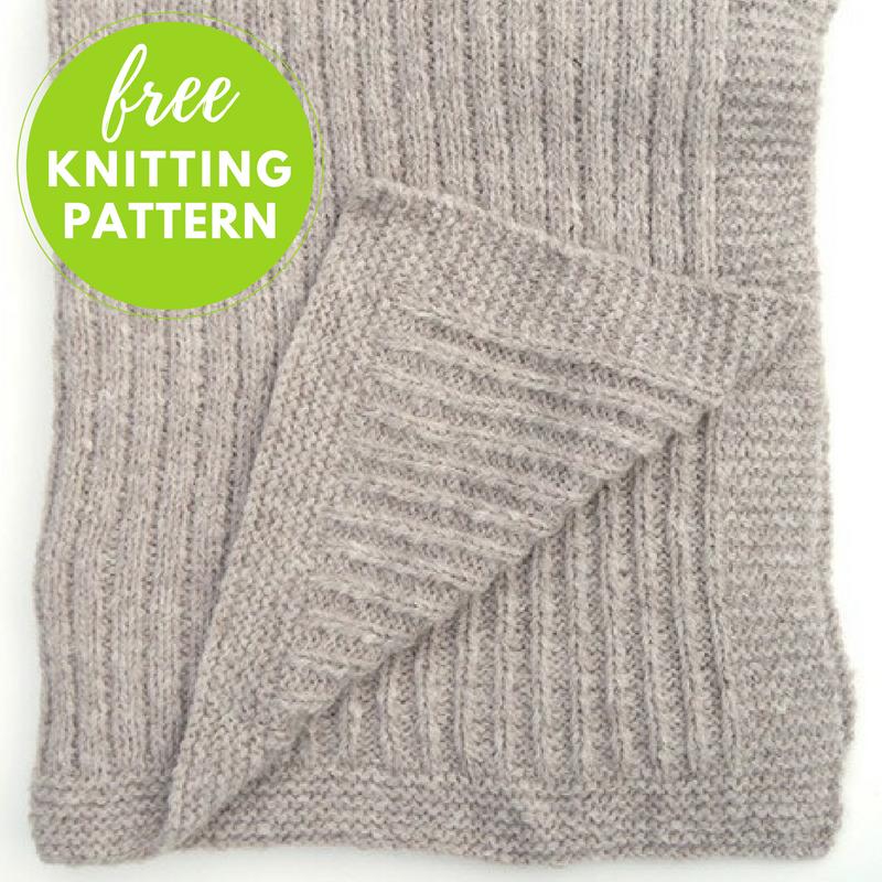 Geneva Blanket Free Knitting Pattern   Blog.NobleKnits