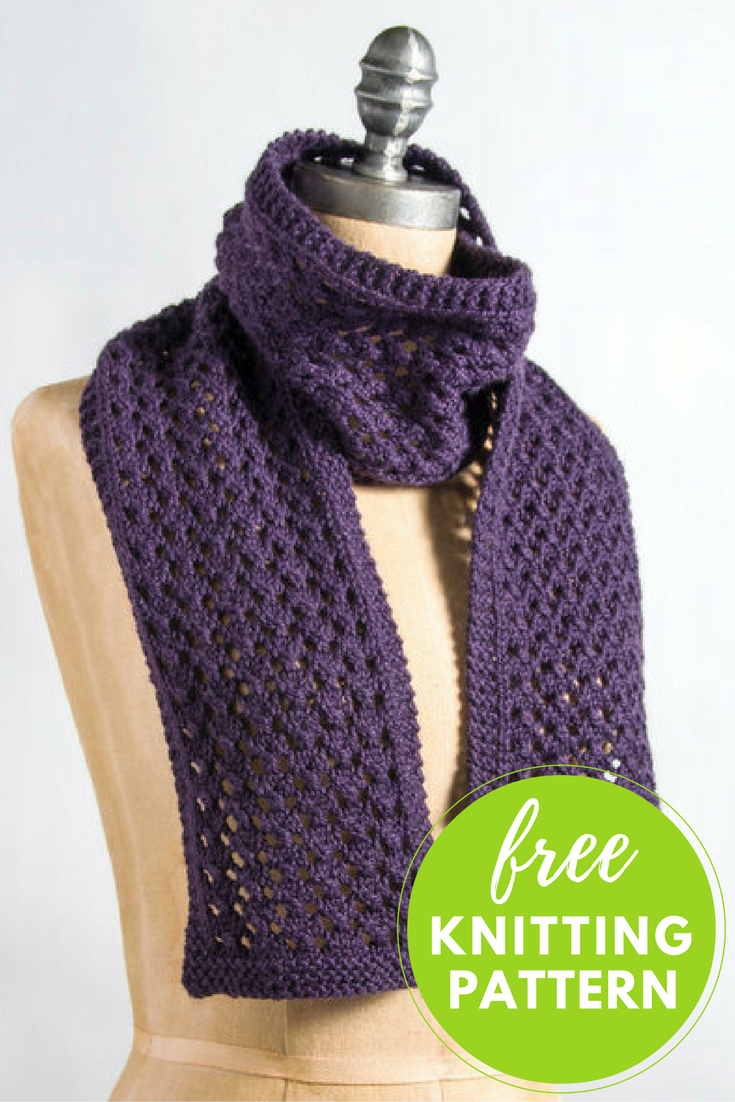 Extra Quick And Easy Scarf Free Knitting Pattern Blog Nobleknits