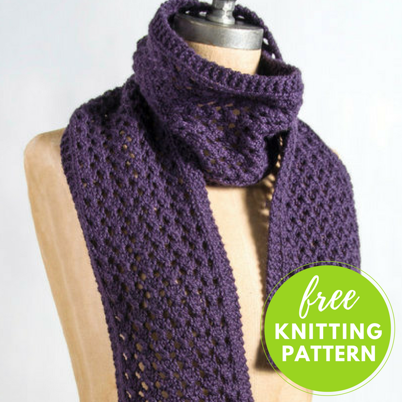 Knitting A Scarf Quickly : Extra quick and easy scarf free knitting pattern —