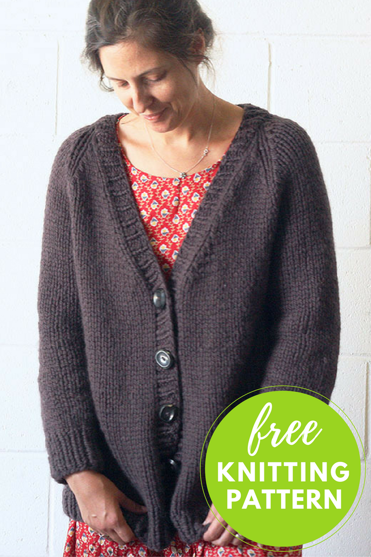 Lulea Cardigan Free Knitting Pattern