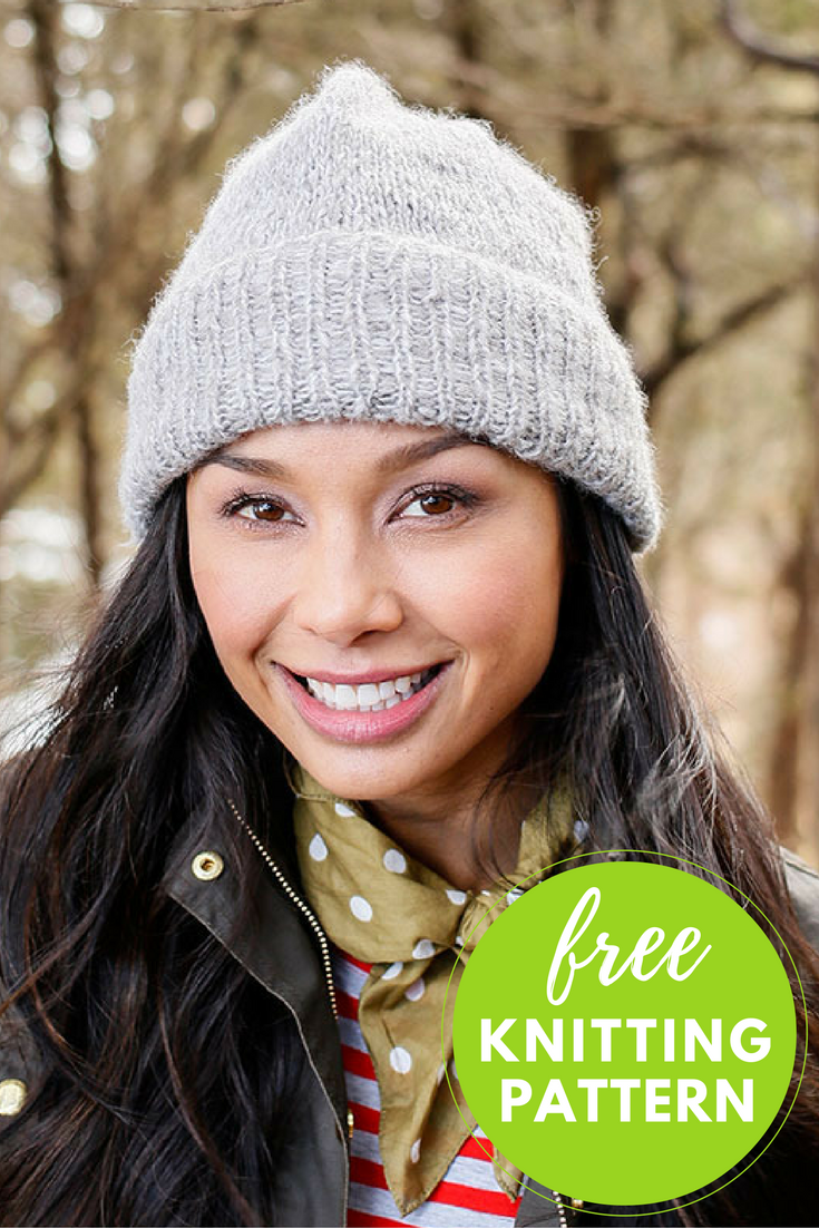 Easy! Kennebec Hat Free Knitting Pattern