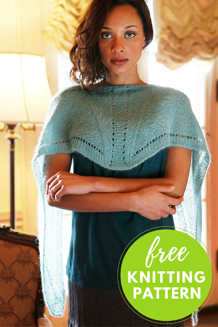 Siddal Lace Shawl Free Knitting Pattern