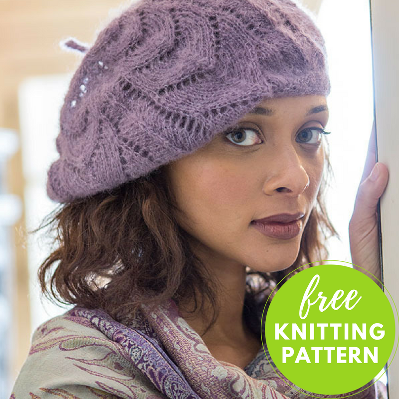 Collier Slouchy Hat Free Knitting Pattern Blogbleknits