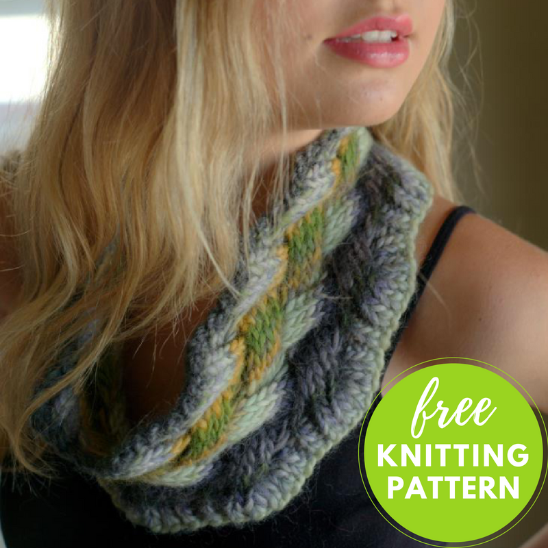Lattice Cable Cowl Free Knitting Pattern Blogbleknits