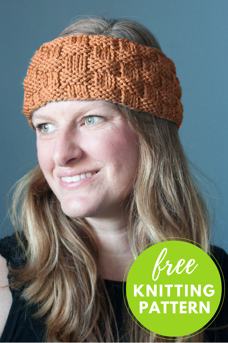 Baa Baa Headband Free Knitting Pattern