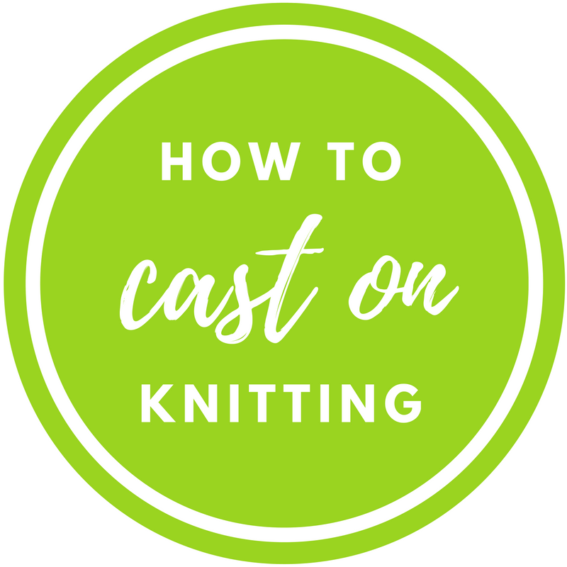 How to Start Knitting - Casting On Knitting