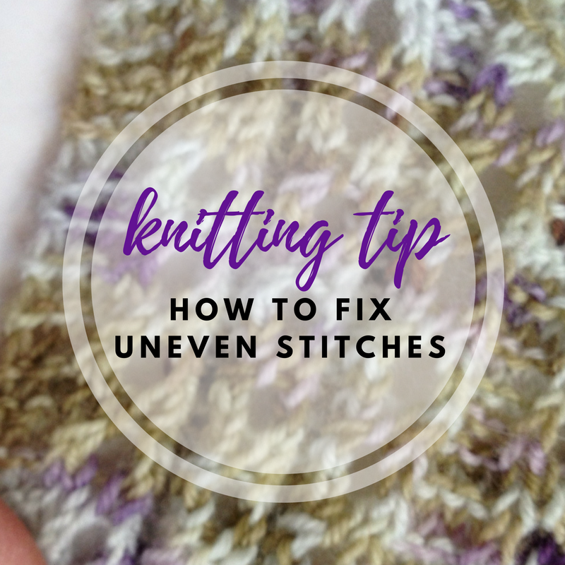 How to Fix Uneven Stitches