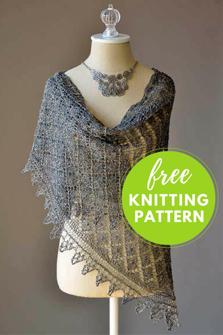 Going Places Shawl Free Knitting Pattern — Blog.NobleKnits