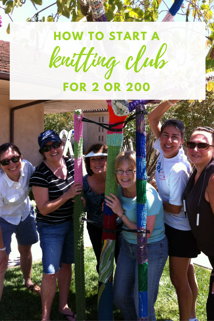 How to Start Your Own Knitting Club