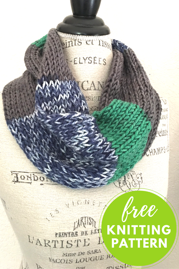 Amplify Cowl Free Knitting Pattern - One Skein Project!