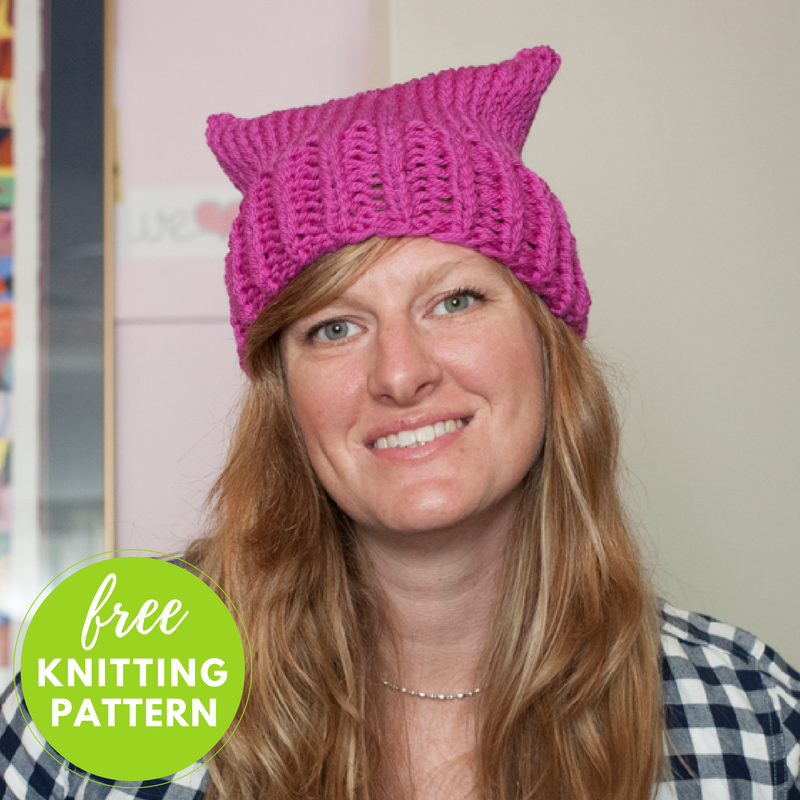 Pussy Cat Hat Free Knitting Pattern Blogbleknits