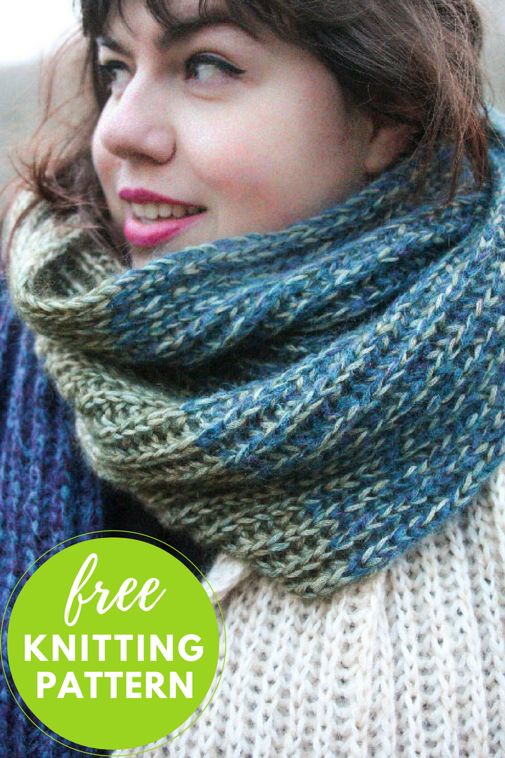 Beginner Brioche Scarf Free Knitting Pattern