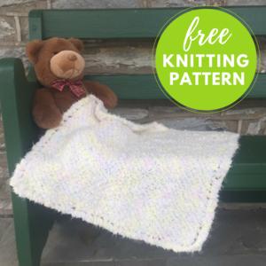 65164f63c41 Cloud Fast   Easy Baby Blanket Free Knitting Pattern