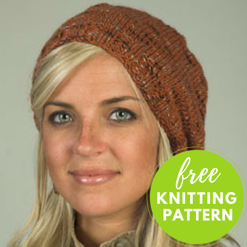 Coffee Beenz Hat Free Knitting Pattern