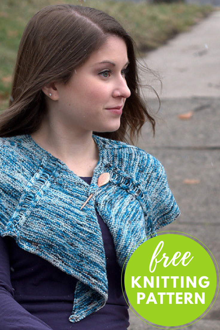 Happy Feet Splash Scarf Free Knitting Pattern