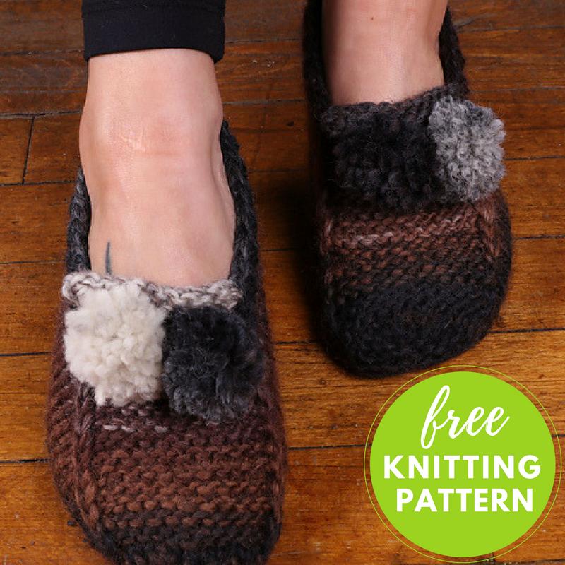 Gina Chunky Slipper Socks Free Knitting Pattern Blogbleknits