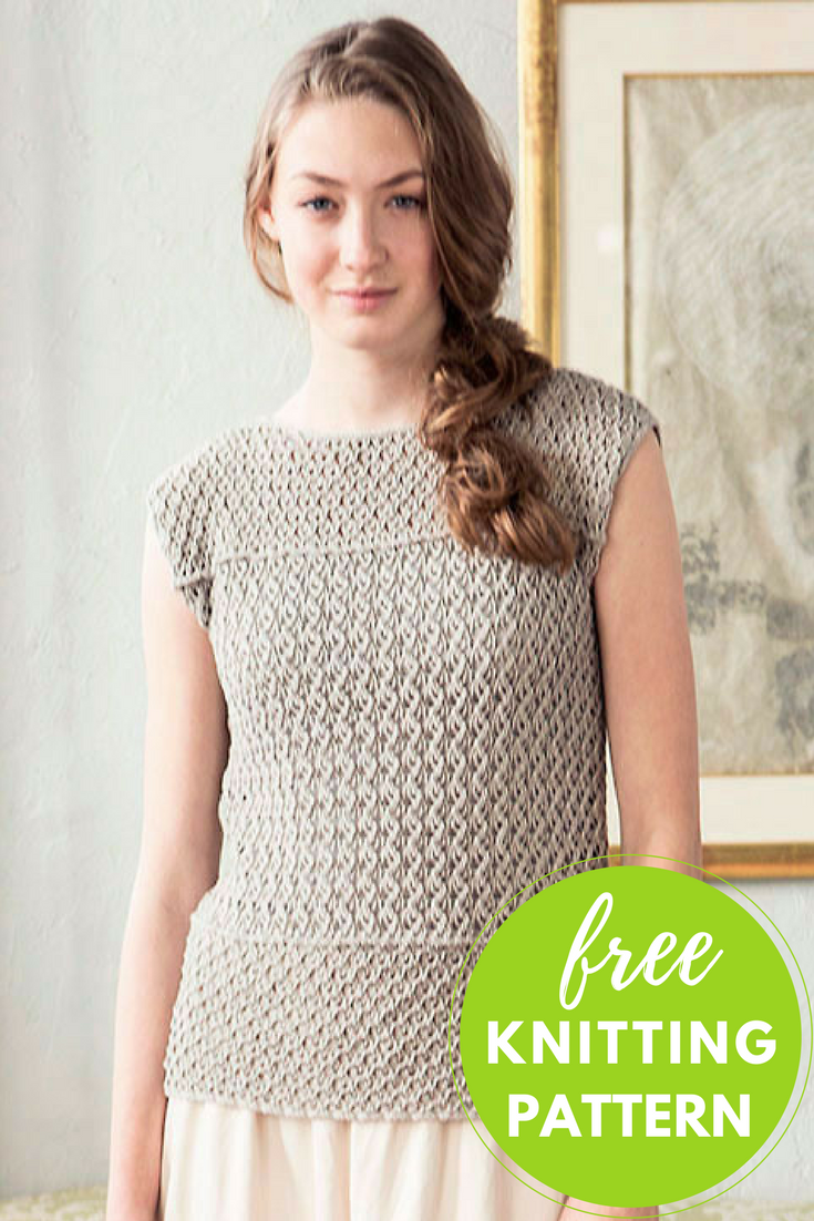 tunic free knitting pattern