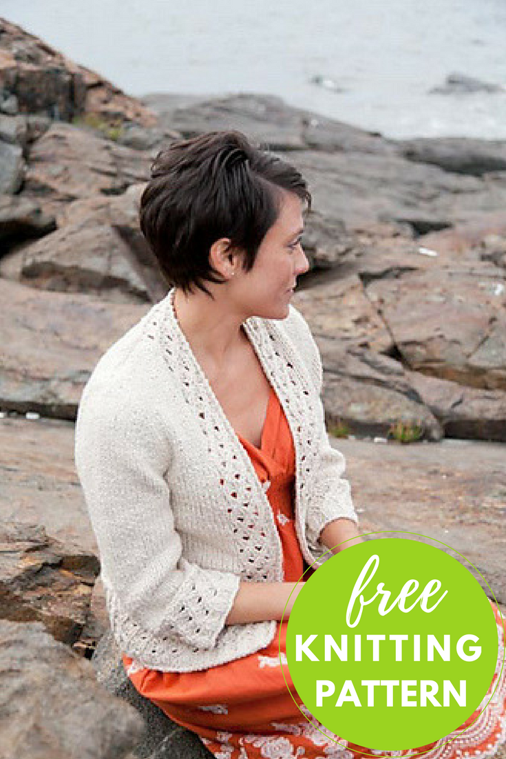Sprout Cardigan Free Knitting Pattern