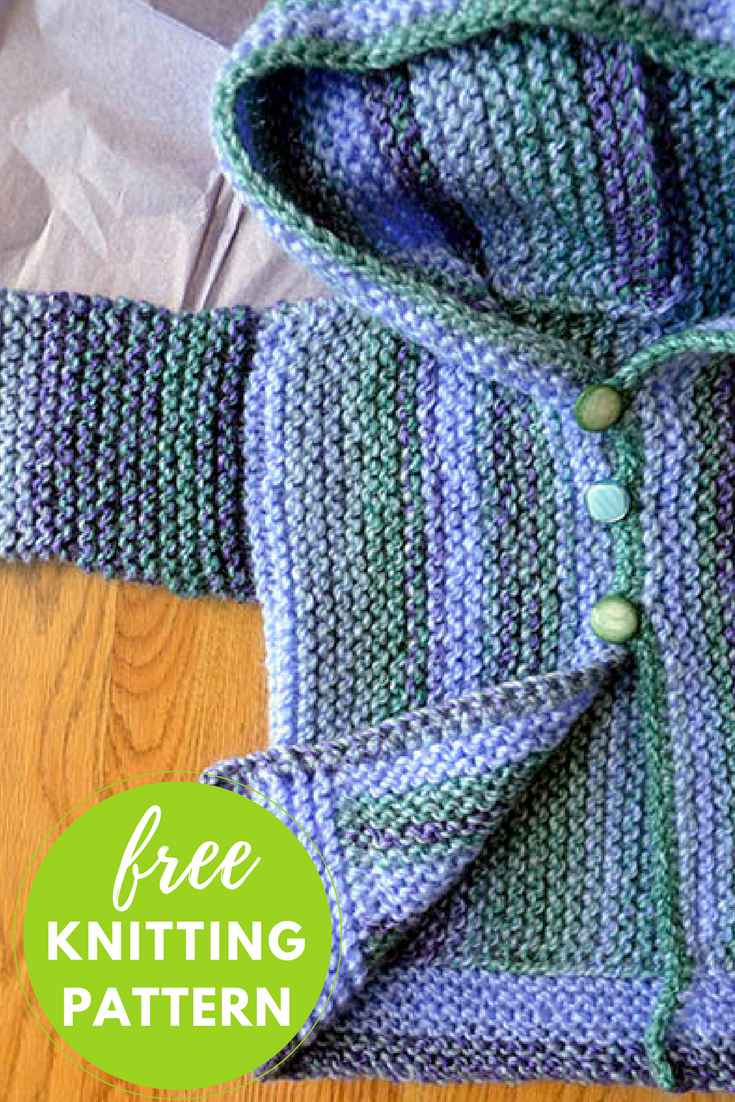 Cozy Baby Sweater Free Knitting Pattern — Blog.NobleKnits