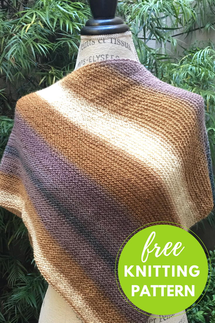 Nebushawl Free Knitting Pattern — Blog.NobleKnits